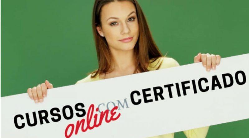 Cursos Online com Certificado reconhecido pelo MEC