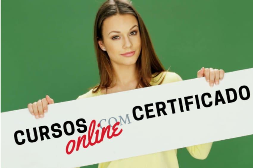 Cursos Online Com Certificado Reconhecido Pelo Mec Faca Curso Gratis Aqui Curso A Distancia Gratis