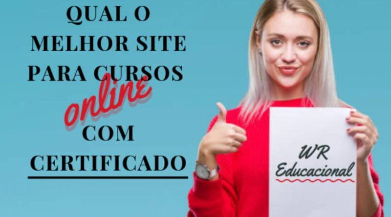 Qual o melhor site para cursos online com certificado?